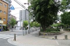5.天下茶屋公園を直進